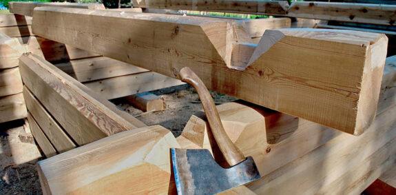 Технологии деревянного домостроения: ручная рубка